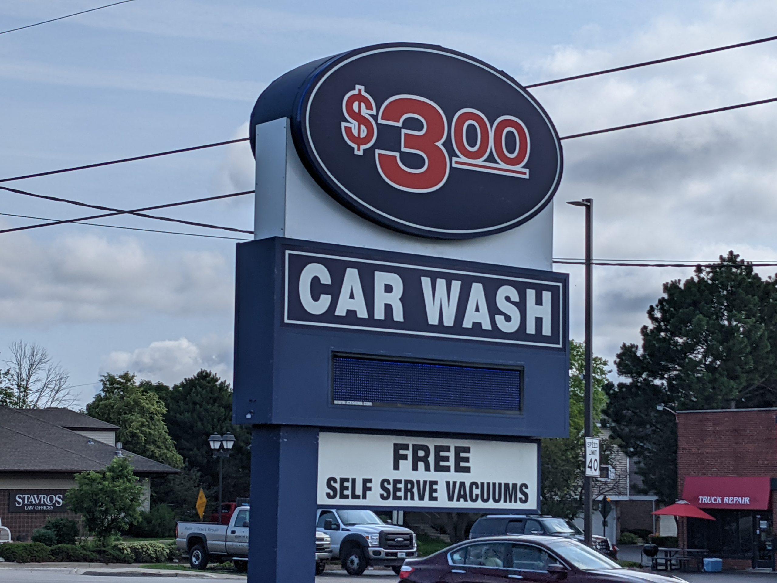 The Original $3.00 Car Wash